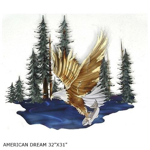 """""""American Dream"""" ~ 32x31 inches"""