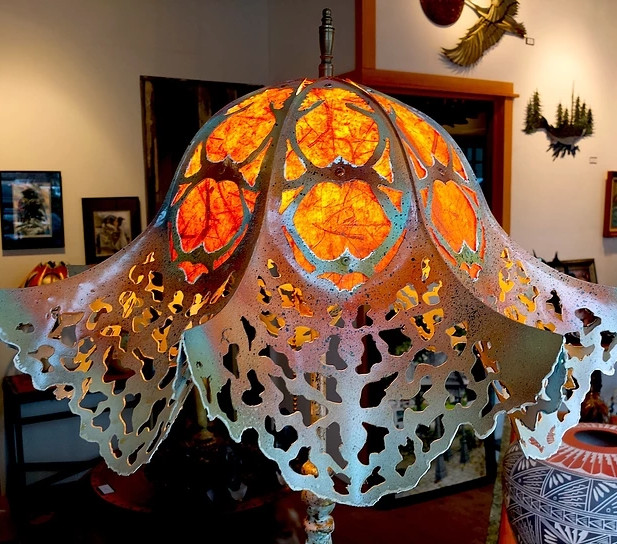 Intricate Lampshade