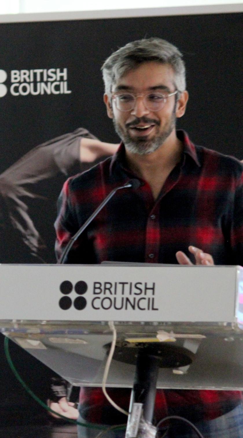 Abhishek Madan ACRI Bengaluru British Council