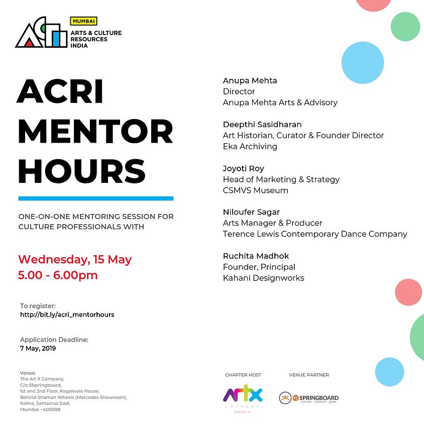 ACRI Mentor Hours