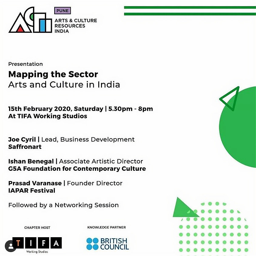 ACRI PUNE 03: Mapping the Sector | Arts and Culture in India
