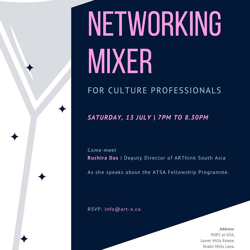 Networking Mixer for Culture Professionals
