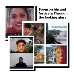 Sponsorship and festivals: Through the looking glass - 26 Nov, 2020