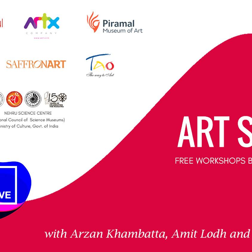 ART SUNDAY - Free workshops based on ART & SCIENCE