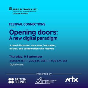 Opening doors: A new digital paradigm - 9 September, 2021