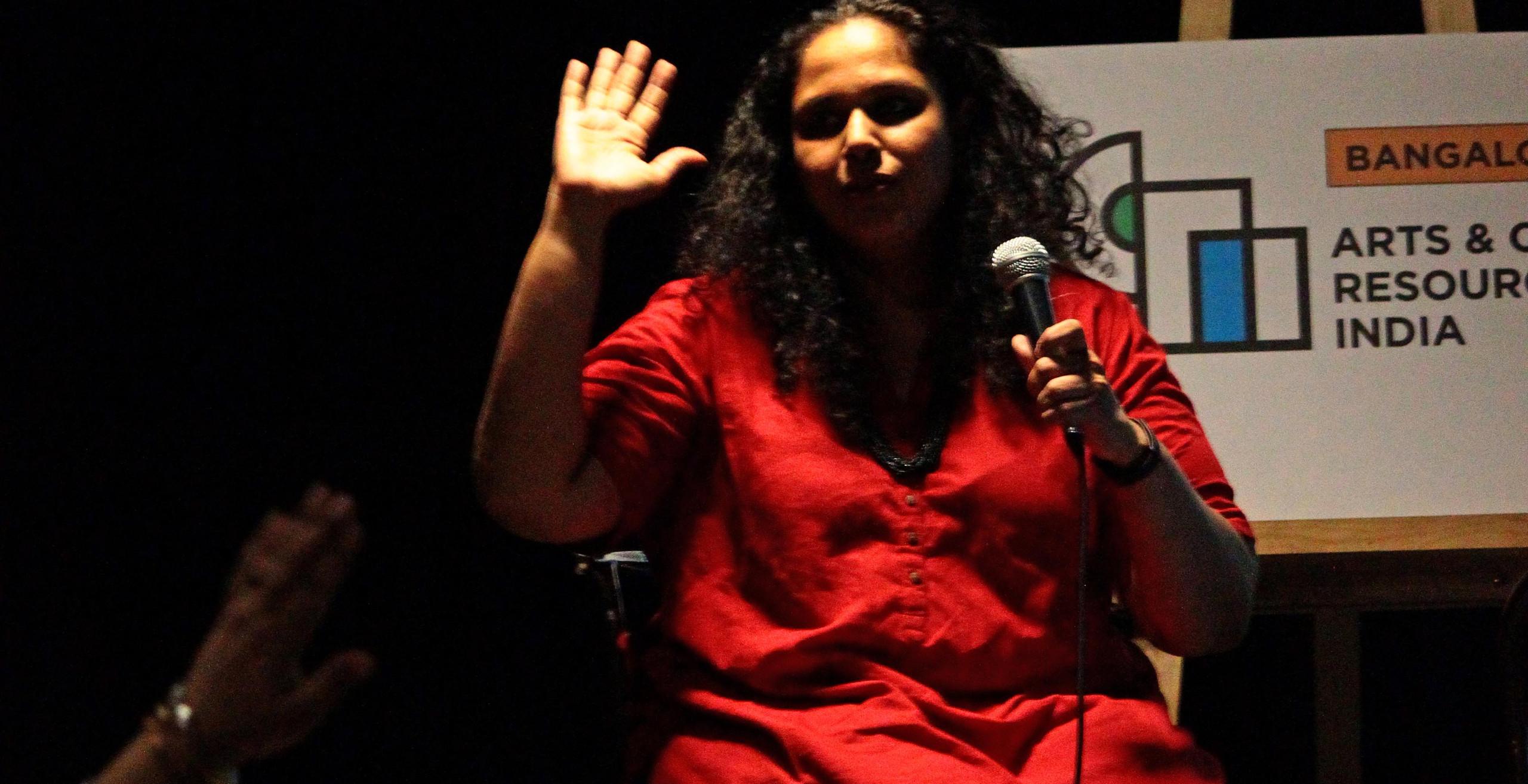 ACRI Bengaluru Menaka Rodrigues