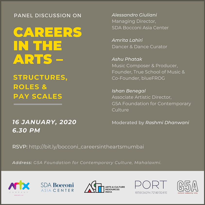 Careers in the Arts - Structures, Roles & Pay Scales