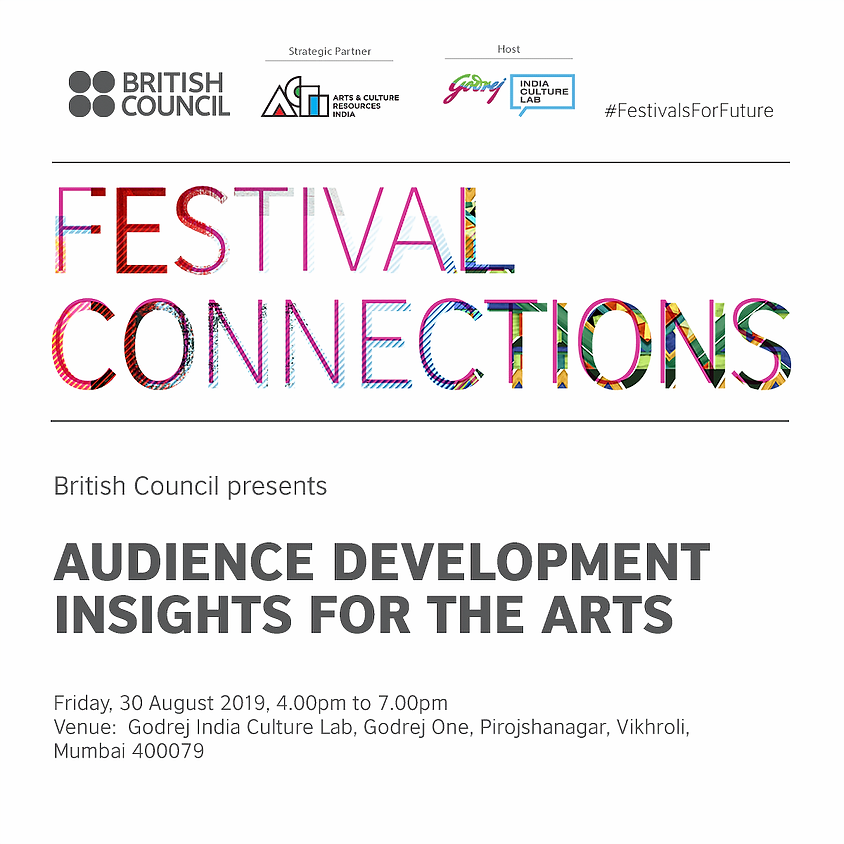 Audience Development Insights for the Arts - Mumbai Session