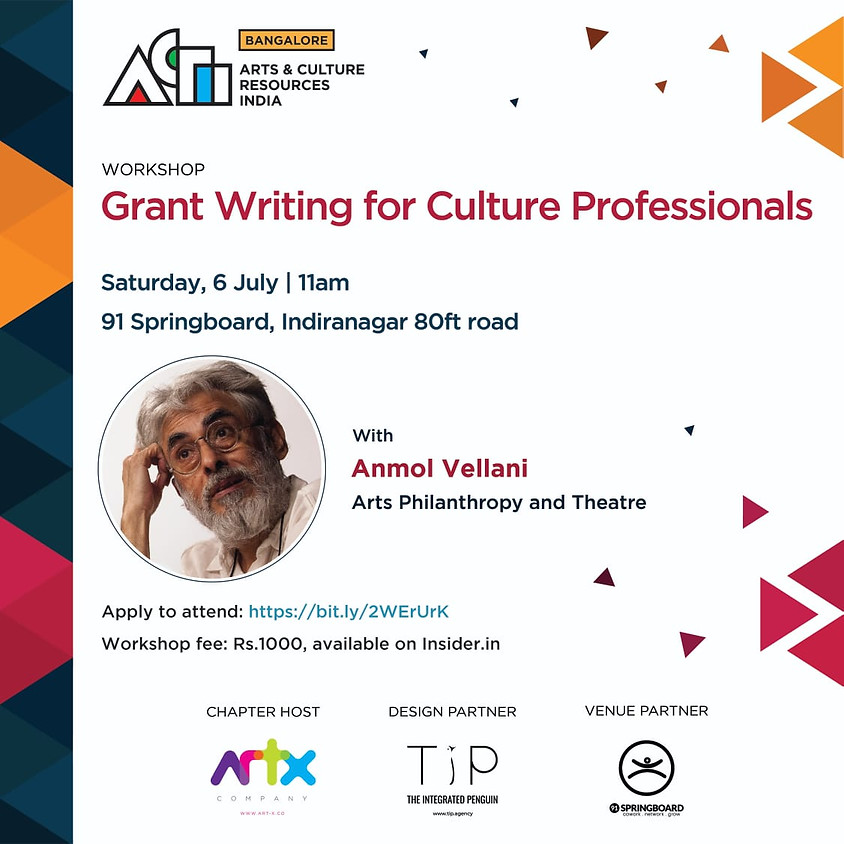 Grant Writing for Culture Professionals