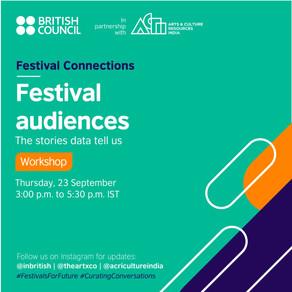 Festival audiences: The stories data tell us - 23 September, 2021