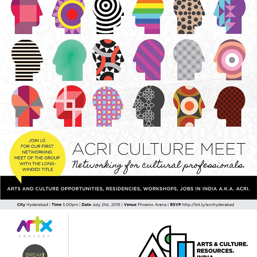 ACRI Culture Meet   Hyderabad