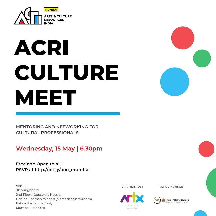 ACRI Culture Meet | Mumbai