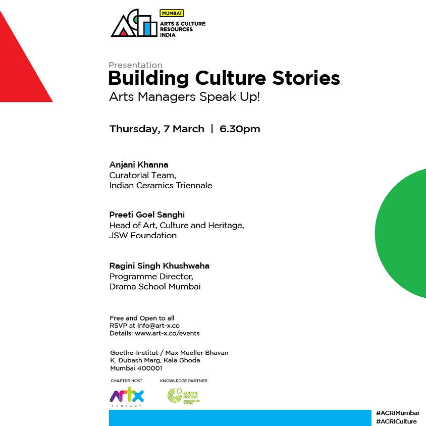 Building Culture Stories