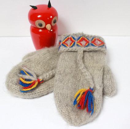 Moufles en laine Sami