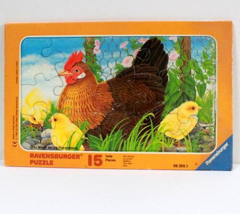 Puzzle La poule