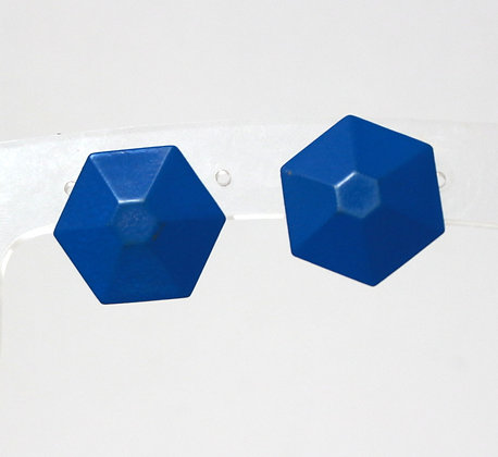 BO métal bleu