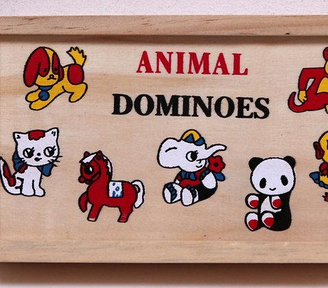 Domino des Animaux en bois