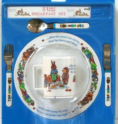 Service à déjeuner vintage pour enfant