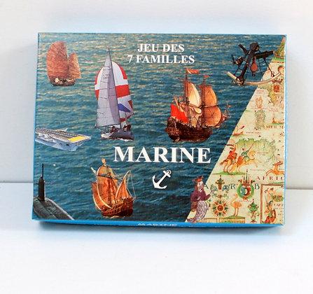 Jeu des 7 familles La Marine