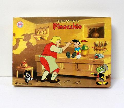 Jeu de tampons vintage Pinocchio