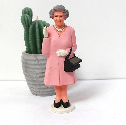 Figurine animée Reine Elisabeth