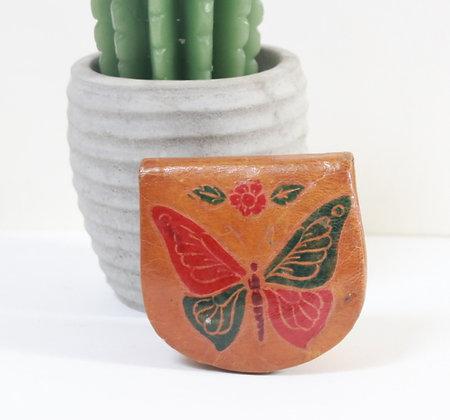 Porte-monnaie au papillon