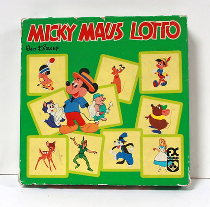 Loto Mickey Mouse vintage