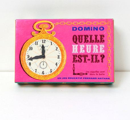 """Domino """"Quelle heure est-il ?"""""""