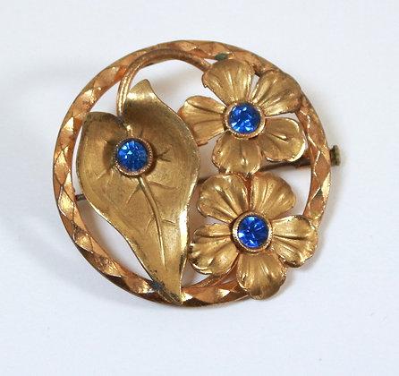 Broche ancienne Art Nouveau