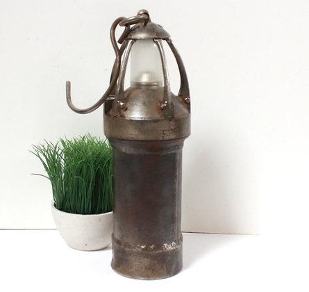 Ancienne lampe de mineur