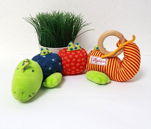 Doudou hochet crocodile Sigikid