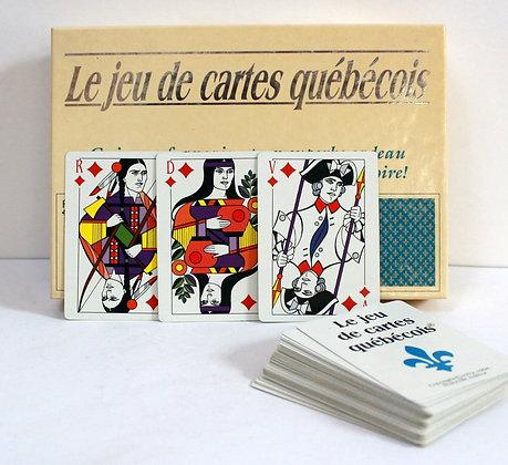 Jeu de cartes québécois