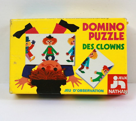 Domino puzzle des Clowns