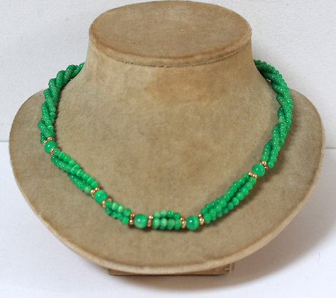 Collier vert 1960