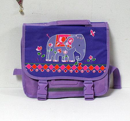 Cartable éléphant des Indes