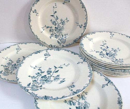"""Assiettes plates """"Printemps"""""""