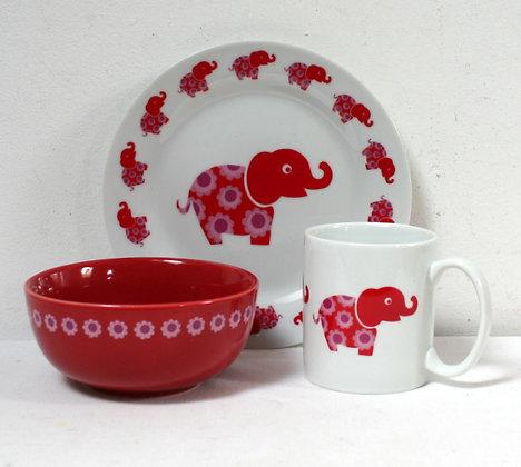 Déjeuner éléphant