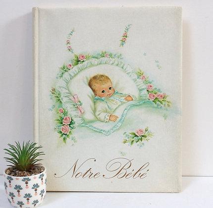 Livre de naissance Notre Bébé