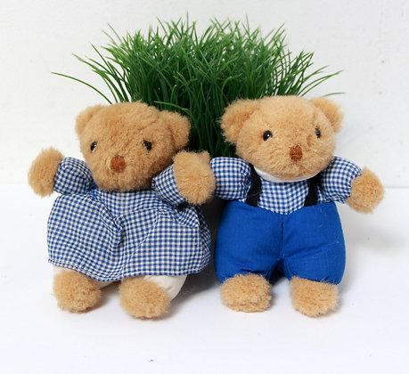 Couple d'oursons Petit Bateau