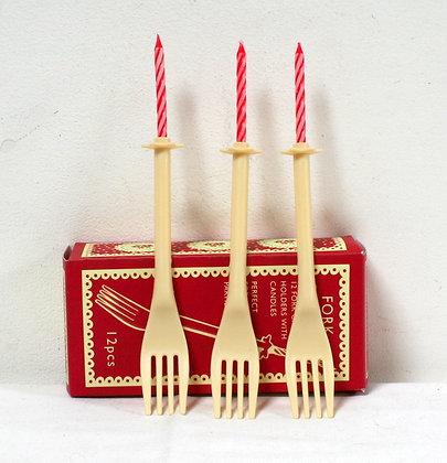 Bougies-fourchettes