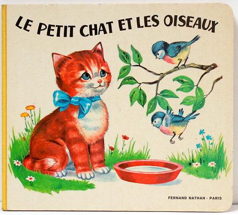 Le petit chat et les oiseaux