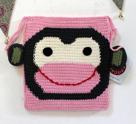 Pochette à suspendre singe