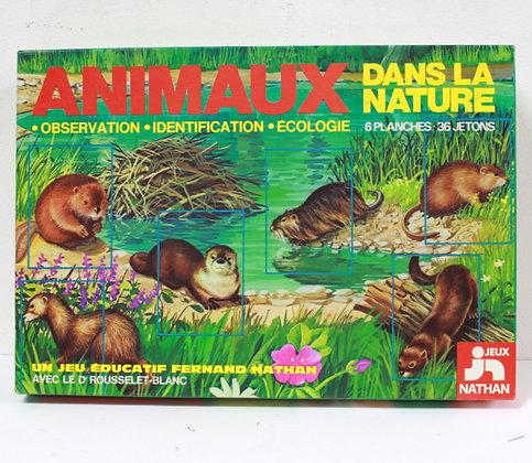 Animaux dans la nature