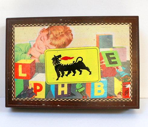 Cubes vintage Alphabet