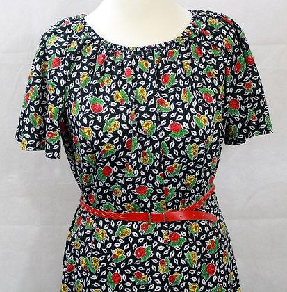 Robe vintage imprimée