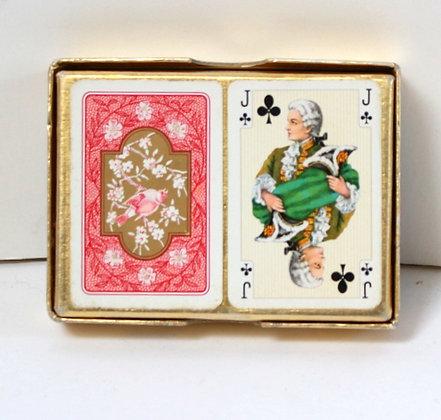 """Deux jeux de cartes classiques """"Empire"""""""