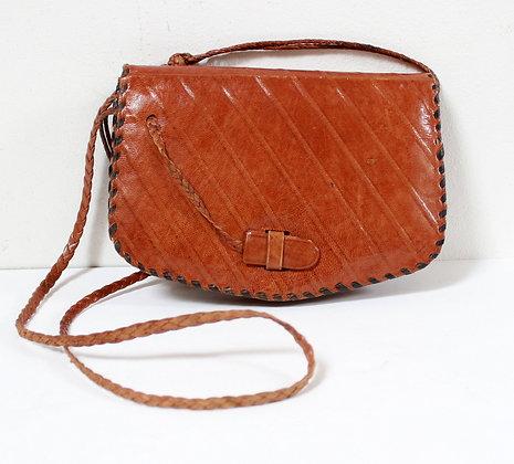 Mini sac vintage en cuir