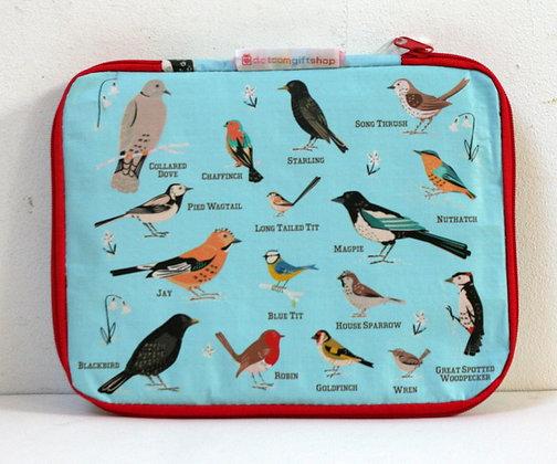 Housse de tablette aux oiseaux