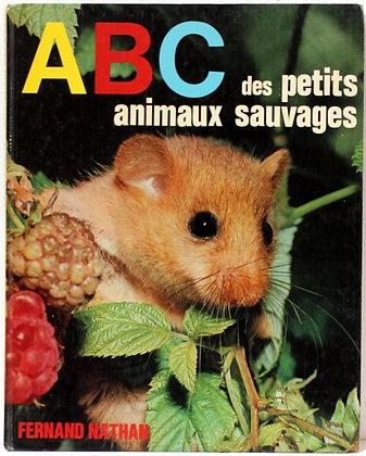 ABC des petits animaux sauvages