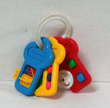 Hochet 3 clefs activités